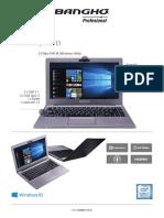 Ficha Tecnica Notebook Bangho BES E3 Profesional v2