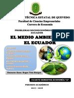 El Medio Ambiente en El Ecuador - Grupo 7