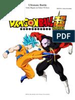 Ultimate Battle Goku vs Jiren Dragon Ball Super