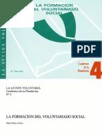 La Formación Del Voluntariado Social