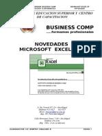 Novedades en Microsoft Excel Xp