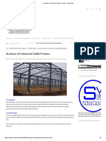 Analysis of Industrial Gable Frames - Structville