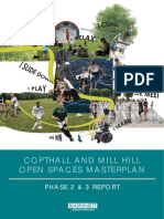 Barnet Council Copthall Sports Hub and Mill Hill Open Spaces Draft Masterplan
