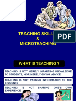 Teaching Skills & Microteaching