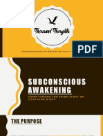 Subconscious Awakening by Thousand Thoughts