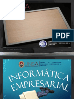 Presentación de i Sesion de Informatica Empresarias