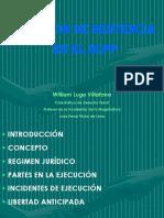 080816 - Ejecucion de Sentencias - Dr. William Lugo Villafana