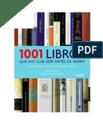 1001 Libros Que Hay Que Leer Antes de Morir - Peter Boxall -Jose Carlos Mainer-1