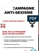 Une Campagne Anti-sexisme
