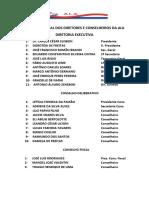 Diretores e Conselheiros da ALA