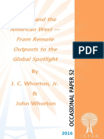 """Energy and the American West — From Remote Outposts to the Global Spotlight"" by  J. C. Whorton, Jr. and John Whorton,"
