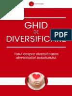 Ghid de Diversificare - Mami Si Copilul