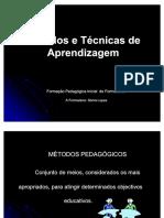Metodos e Tecnicas Pedagógicas