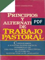 Alberto Barrientos Principios y Alternativas de Trabajo Pastoral