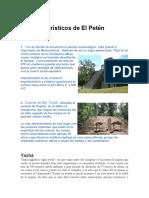Lugares Turísticos de El Petén