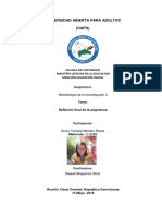 Realización Final de La Asignatura Metodología II