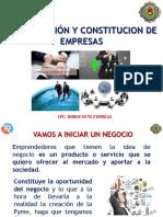 Organización y Constitución de Empresas 21.03.2018