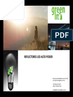 Catalogo Reflectores LEDS AEH