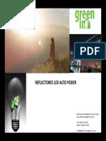 Catalogo Reflectores LEDS AEH