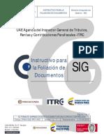 3. Instructivo Para Foliacion de Documentos
