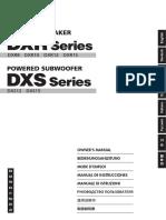 Yamaha DXR Series Powered Speakers