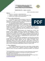 Conceitos de Administraçao;