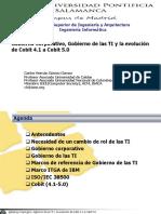 Gobierno Corporativo Gobierno de Las Ti y La Evolucic3b3n de Cobit 4 1 a Cobit 5 0