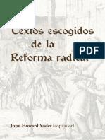 Varios - Textos Escogidos de La Reforma Radical