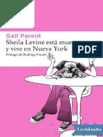Sheila Levine Esta Muerta y Vive en Nueva York - Gail Parent