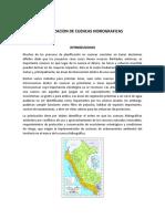 Priorizacion de Cuencas Hidrograficas