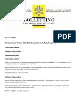 La carta del Papa Francisco a la Iglesia Chilena