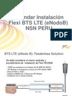 Estandar Instalacion Flexi BTS LTE NSN PERU.pdf