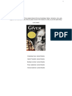 english 116b the giver handout