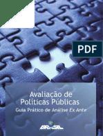Avaliação de Políticas Públicas Guia Prático de Análise Ex Ante IPEA