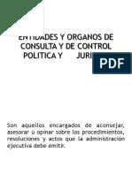 Entidades y Organos de Control