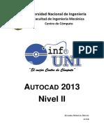 Autocad Intermedio 2013-InFOUNI