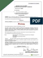 Concesión Registro de Marca Proclama