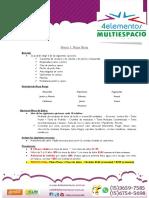 4elementos Multiespacio. Servicio de Catering 1 Enero 2018