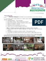 4elementos Multiespacio. PROMO SOCIOS CLUB 4elementos. 2018