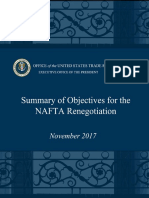 NAFTA Objectives Update