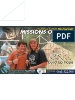 2010 KBF Fall Missions Offering - Poster