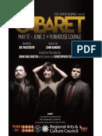 Cabaret Playbill