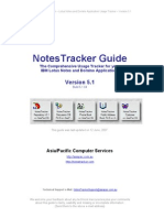 NotesTracker Guide Version5 1