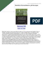 Acciones Ordinarias Y Beneficios Extraordinarios (3)