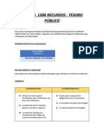 casos practico cta. 1206 - contabilidad gubernamental