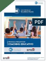 Programa Formativo en Coaching Educativo