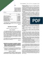 HACCP - Diário Da Republica