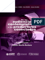 Audiencias Contemplativas Productores Conectados