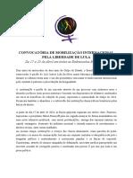 Mmm - Apr17 - Convocatória de Mobilização Internacional Pela Liberdade de Lula