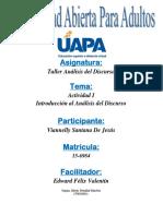 Unidad i. Introducción Al Análisis Del Discurso. (2)